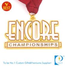 China Custom Cheap Metal Gold Plating Enamel Souvenir Alphabet Letter Pattern Carnival Championship Medal