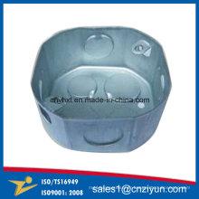 Boîte de conduit d'octogone en acier galvanisé