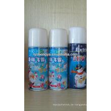 Dekoration Weihnachten gefälschte Schnee Spray