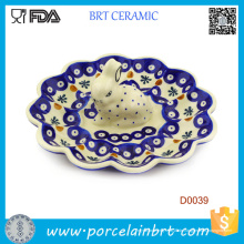 Süßes Kaninchen Wanderful Keramik Ei Servierplatte