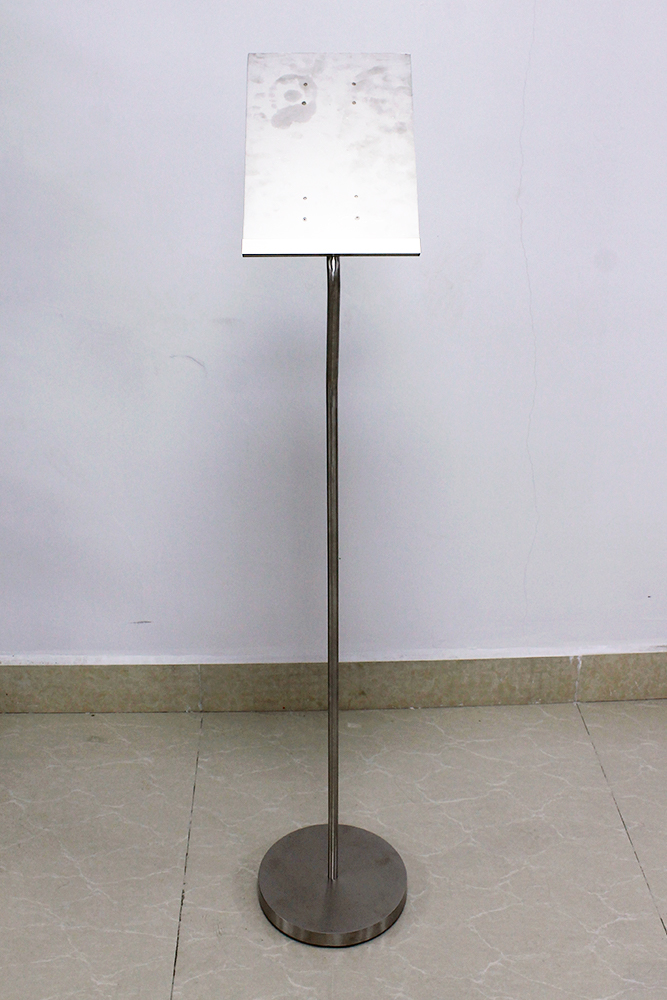 Advertising Brochure Sign Holder Floor Stand 1