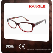 2017 New design fashion acetate optical frames