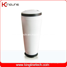 400ml Plastic Double Layer Cup with Handle (KL-5014)