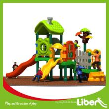 Thème de la nature Maison de l'arbre Bâtiment Backyard Équipement pour enfants à l'extérieur à vendre