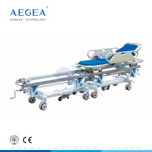 AG-HS003 Connecting system transfer equipment emergency deluxe hospital manual stretcher