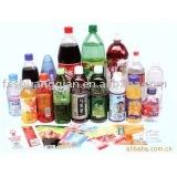 High Quality pvc shrink wrap bottle labels for bottle package