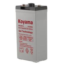 High Quality 2V Stationary Gel Battery for Telecmmuncations 2V200AH