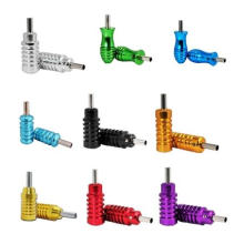 Colorful Tattoo Machine Hand Grip Aluminium Tattoo Grip