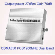 Full Intelligent Dual Band 850/1900MHz Signal Repeater/Booster/Amplifier 2g 3G 4G