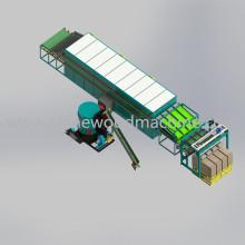 Maquinaria de secado de chapa de madera