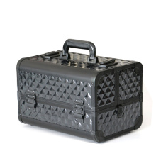 Popular aluminum cosmetic case cosmetics train case
