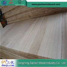 Paulownia Jointed Board for Livingroom Furniture