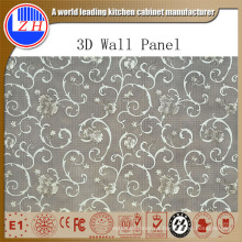 Panel de pared de PVC 3D de impacto
