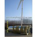 système de turbine éolienne raccordée au réseau 200kW haute événementielle pour un usage domestique