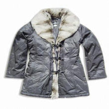 Women's Jacket with Long Sleeves and Stylish Collar, Comes in Gray