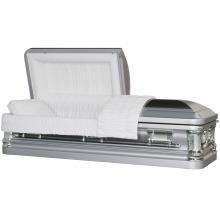 Butler brosse métallique cercueil d'argent pour nous marché