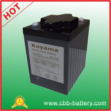 225ah 6V Deep Cycle Gel Battery for European Golf Cart