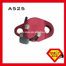 a525 восхождение коромысла жумар спусковое высокая прочность Алюминиевый металлический защиты от падения веревка захватить