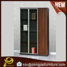 Brown reddish color customized file cabinet