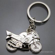 El metal 3D modificó el logotipo de la impresión modificó el llavero promocional de la motocicleta (F1366)