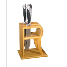 China for Bamboo 2 Slot Knife Block Bamboo 2 slot knife block supply to Canada Importers