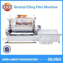 Machine à film élastique lldpe / ldpe à la main