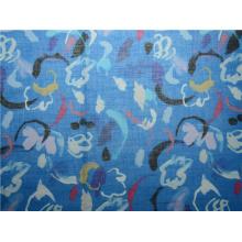 Tecido de algodão Ramie Knit Fabric Ramie para camisa (DSC-4160)