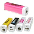 Mini kleurrijke candy lipstick 2600mAh Power Bank