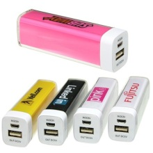 Mini Colorful candy lipstick 2600mAh Power Bank