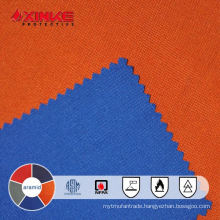 NFPA2112 Orange meta aramid fabric for safety workwear