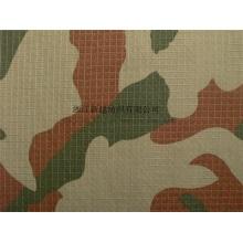 Chama Retardant Nylon Cotton Rip Parar Camuflagem Tecido