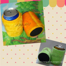 New Design Neoprene Plush Beer Stubby Holder, Stubby Cooler (BC0008)