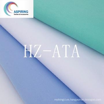 T / C Fabric 65/35 Peinado proceso de alta calidad de calidad camisetas