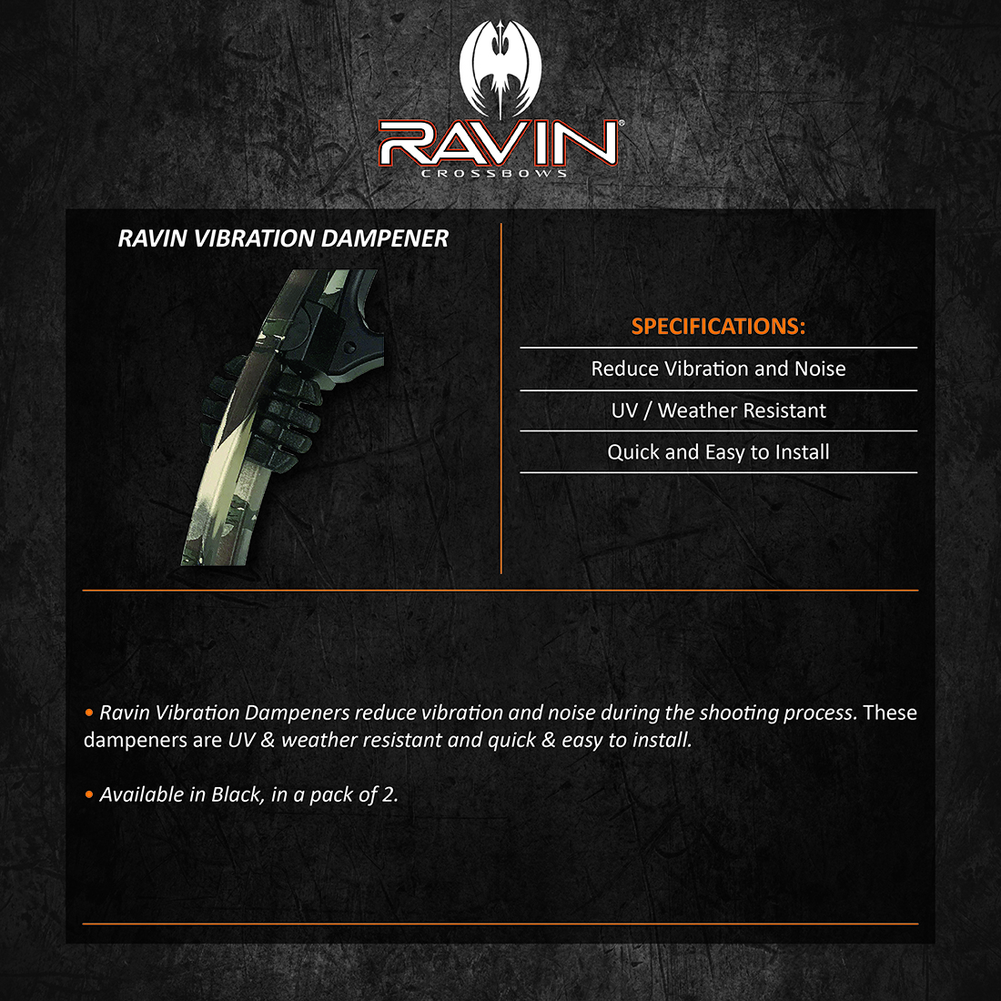 Ravin_Vibration_Dampener_Product_Description