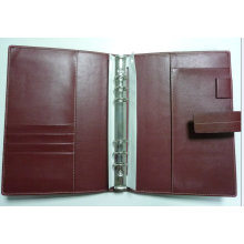 Organizer de couro, pasta de arquivo (LD0021) Diary Cover
