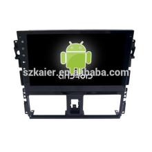 Зеркало-ссылка на Android 4.4 ГЛОНАСС/GPS 1080p удваивают сердечник системы навигации автомобиля для Тойота vios 2014 с GPS/Bluetooth/ТВ/3Г