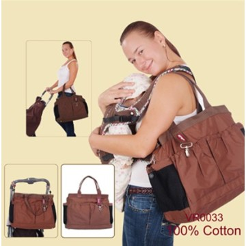 Cute Fashion Mummy Bag & Baby Wickeltasche
