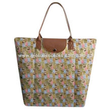 420D Polyester Shopping Bag for Promotional, Foldable