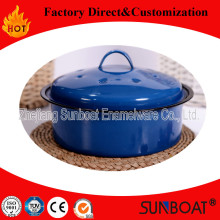 Sunboat Enamel Pot / Stew Pot / Steamer / Cook Pot