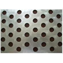 Placa de aluminio de metal perforado de agujero redondo