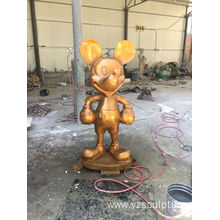 Bronze Mickey Mouse Sculpture For Sale