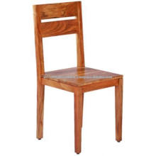 Solid Wood Vintage Dining Natural Finish Dining Chair