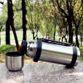 Botella de agua con aislamiento al vacío grande de 1000 ml
