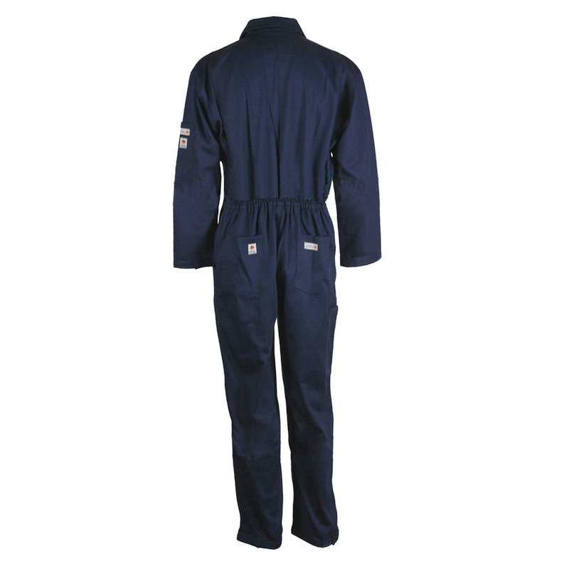 Flame retardant coverall F02B