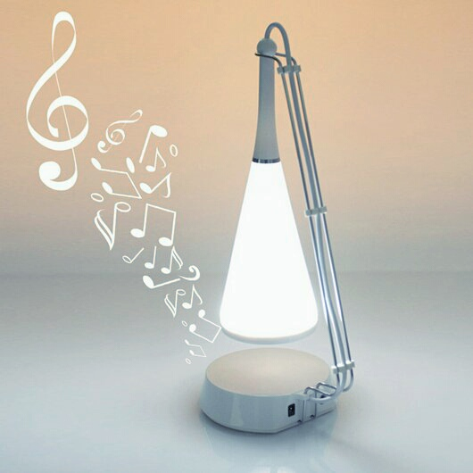 Creative Music Luz de escritorio LED