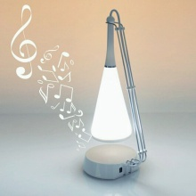 White Music LED Table Lamp