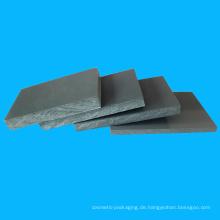 Transparentes Blatt 4,5mm Stärke PVC für Anzeige