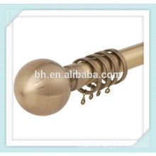 Hot Sale 28mm Anti-Copper Ball Finial Curtain Rod Manufacturer In China