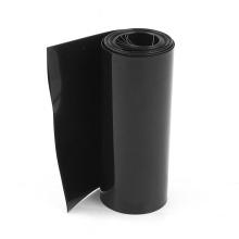 Tubulação preta do filme de psiquiatra do calor do PVC de 115mm para a bateria 18650