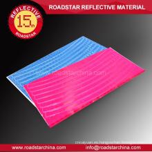 Indecolorable durable de PVC reflejo rueda adhesivo